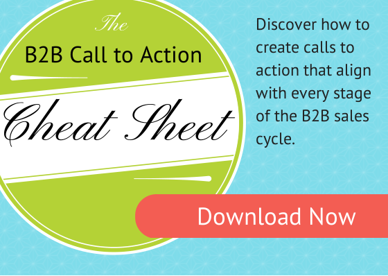 The B2B Call to Action Cheat Sheet image
