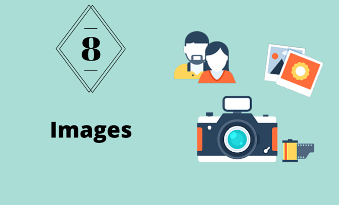 Images of people, photos and a camera.