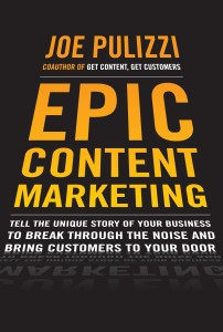 Epic Content Marketing book cover image