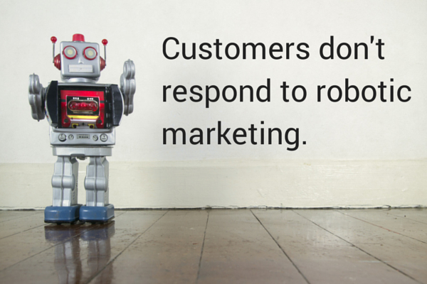 Robotic B2B Technology Marketing