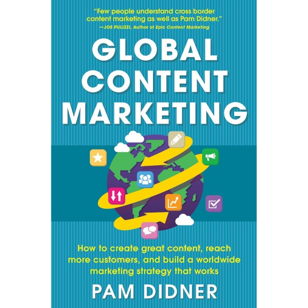 book cover for Global Content Marketing