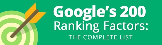 Google's 200 Ranking Factors: The Complete List