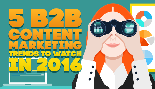 5 B2B Content Marketing Trends to Watch in 2016
