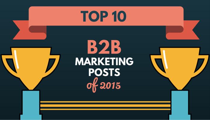 TOP 10 B2B Marketing Posts