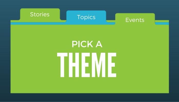 Pick a Theme For Your Content