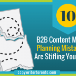 B2B Content Marketing Planing Mistakes