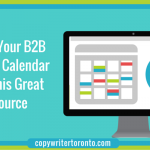 Fill Up Your B2B Content Calendar With This Great Resource
