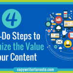 4 Must-Do Steps to Maximize the Value of Your Content