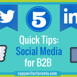 5 Quick Tips: Social Media for B2B