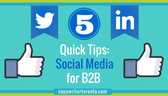 Quick Tips: Social Media for B2B