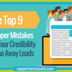 The Top 9 White Paper Mistakes That Kill Your Credibility and Chase Away Leads