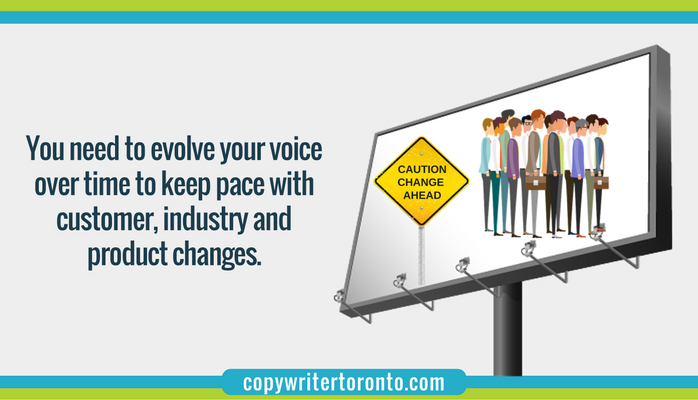 Evolve your brand voice