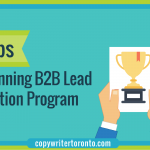 8 Steps to a Winning B2B Lead Generation Program