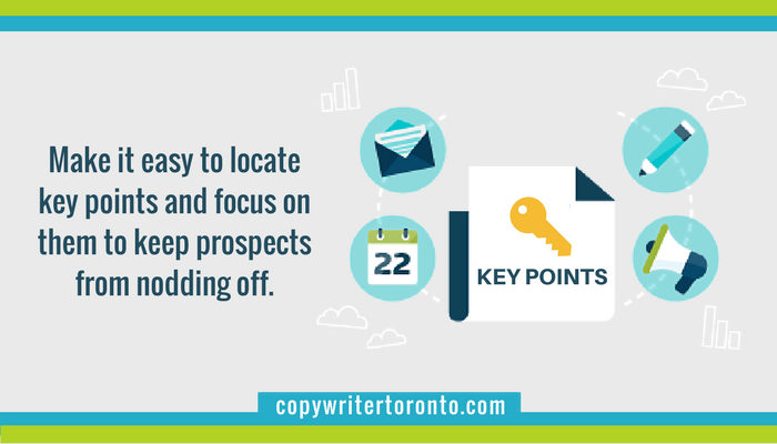 Focus on key points