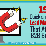 19 Quick and Easy Lead Magnets That Attract B2B Buyers