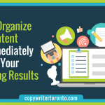 How to Organize Your Content and Immediately Improve Your Marketing Results