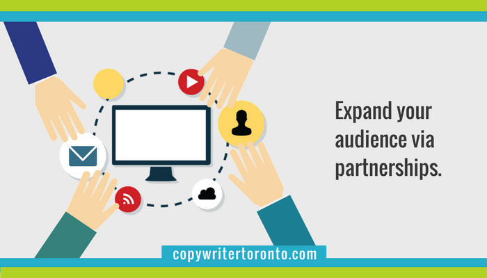 Expand Your Audience Via Partnerships