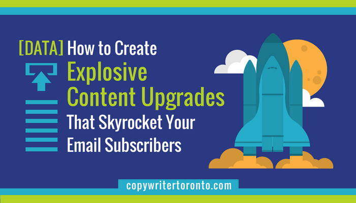 [Data] Content Upgrades Skyrocket