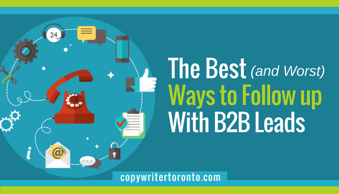 Follow up B2B Leads