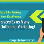 How Content Marketing Benefits Your Business (and Generates 3x as Many Leads as Outbound Marketing)