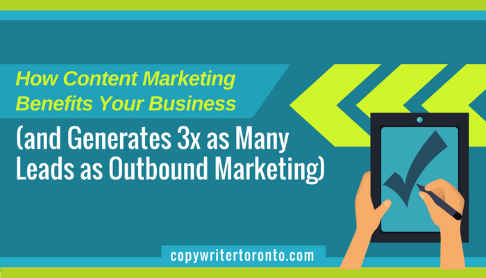 Title Image showing green arrows for inbound marketing and hands holding a tablet with checkmark