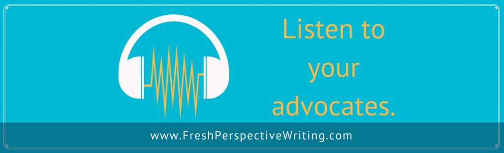 Listen to your advocates image