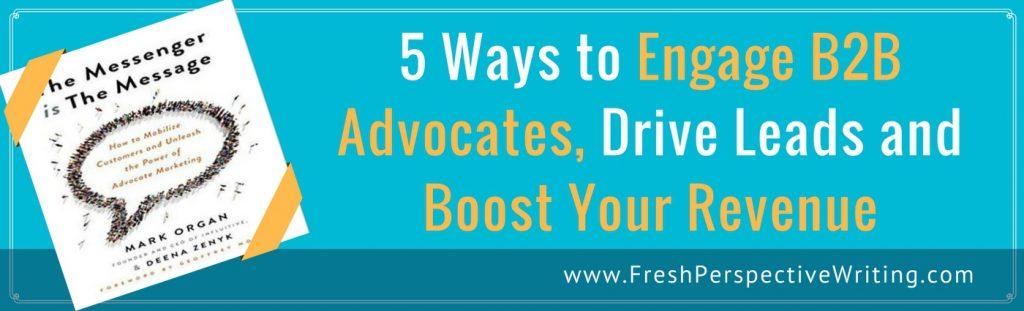 5 ways to engage B2B advocates image