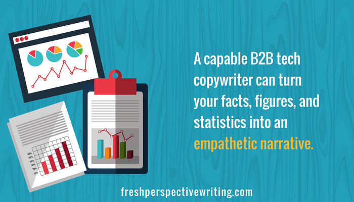 Finding B2B tech copywriter